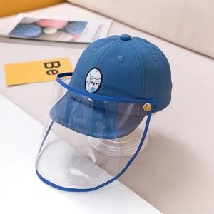 Blue Kid's Protective Cap Hat Dustproof Cover